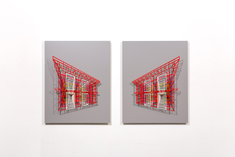 Ambiguous wall- doors 03,04