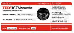 TEDx IST Alameda - 20-2-2016