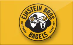 Einstein Bros Bagels logo.