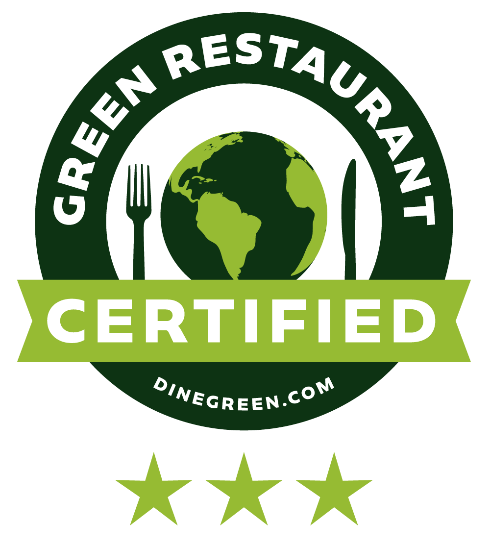 Green Restaurant certified icon.