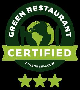 Green Restaurant certified icon.