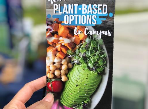 Your Vegan & Vegetarian Eats on Campus