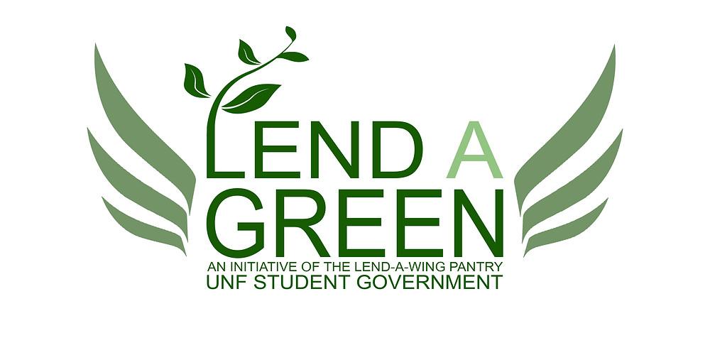 Lend A Green's logo.