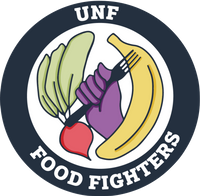 UNF Food Fighters symbol.