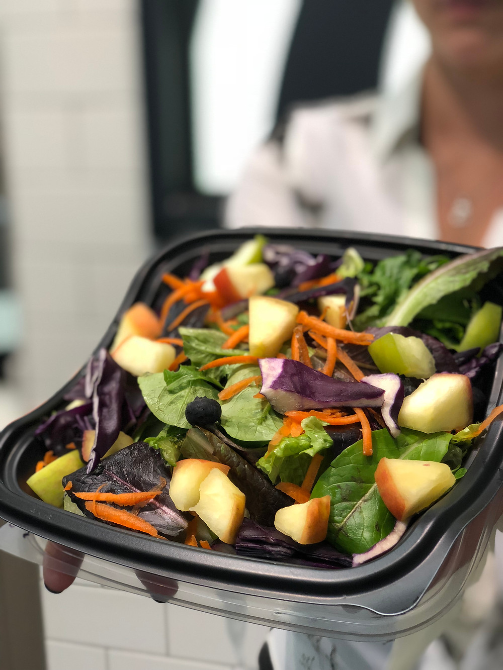 A salad from Chik-Fil-A.