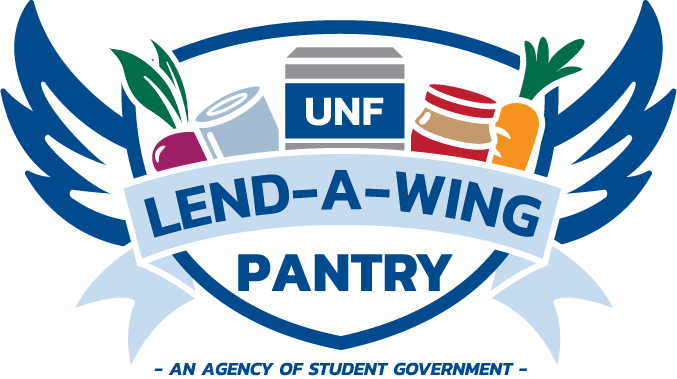 Lend-A-Wing pantry symbol.