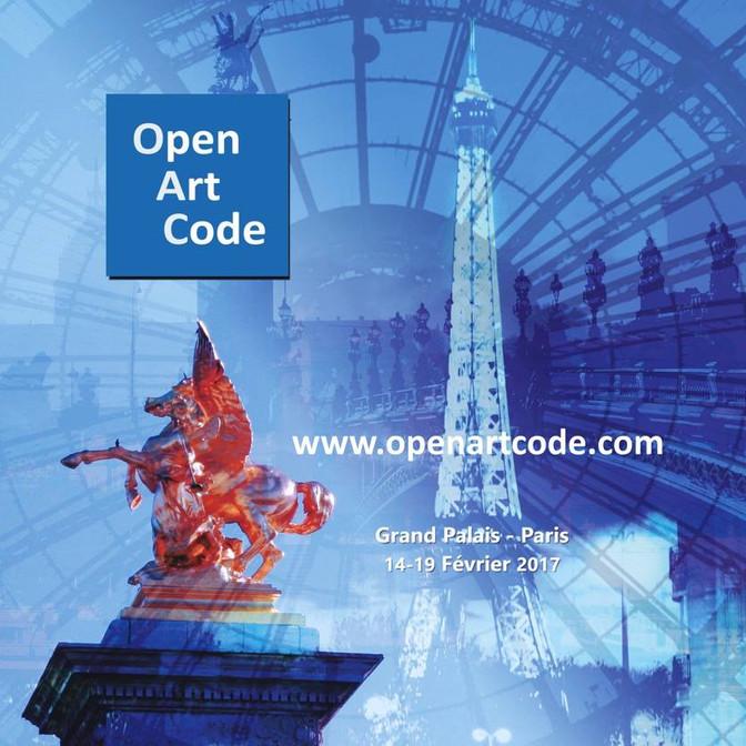 Open Show! Open Art Code Paris at Grand Palais, Paris.