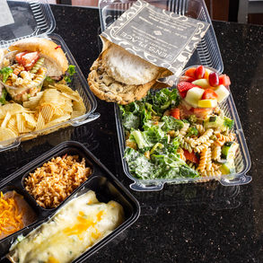 We Cater Individual Boxed Lunches