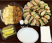 Catered Trayed Sandwiches