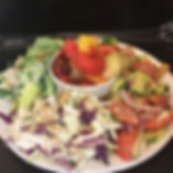Variety Of Salad Plate