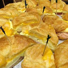 Breakfast Sandwich Tray