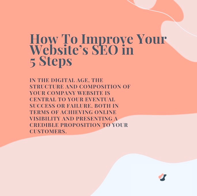 Improve Your Website's SEO In 5 Steps - TFI WEB DESIGN