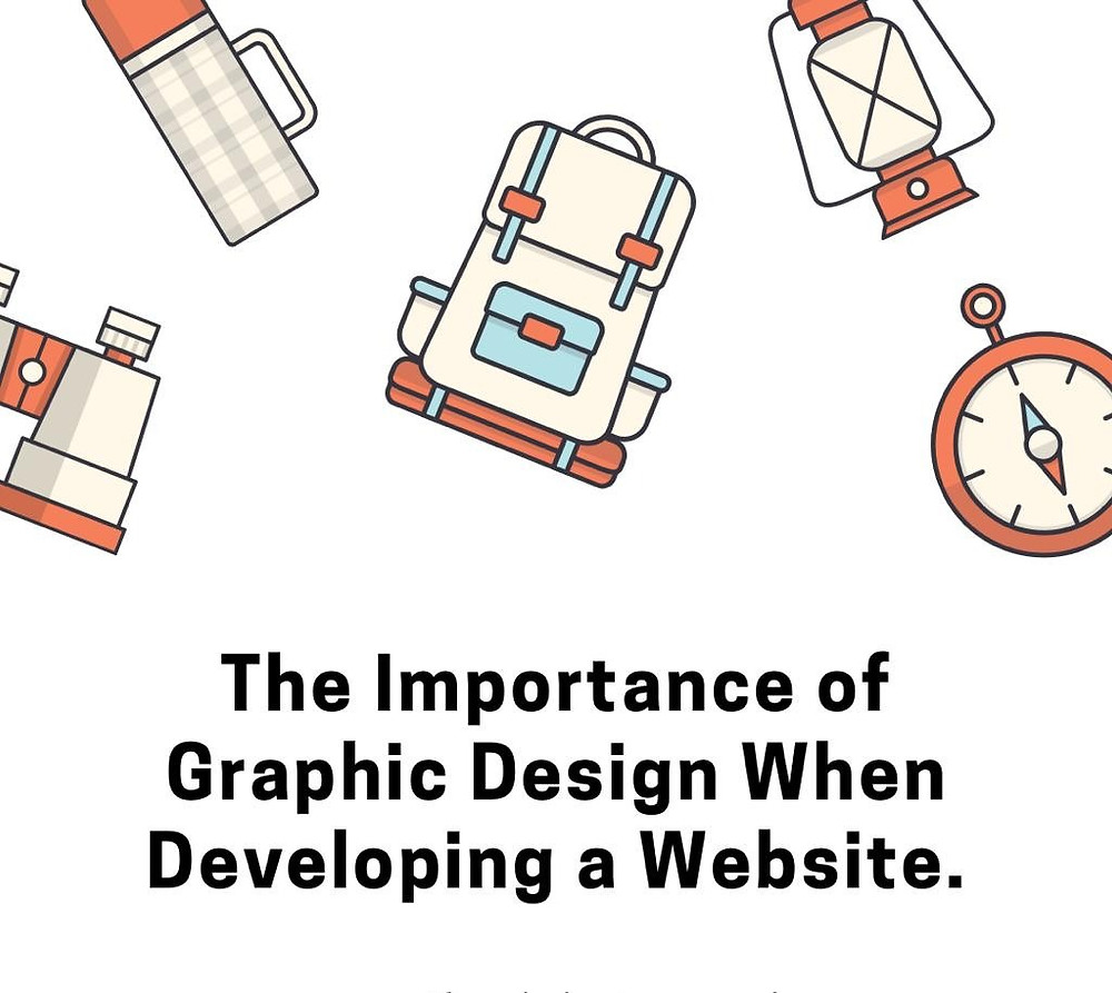 There is an inherent link between graphic and website design
