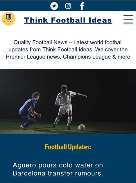 Think Football Ideas. [TFI]