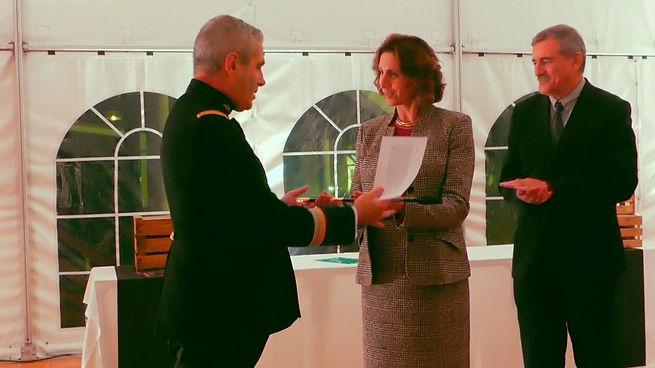 Bettina Écuyer d'Honneur - remise de la