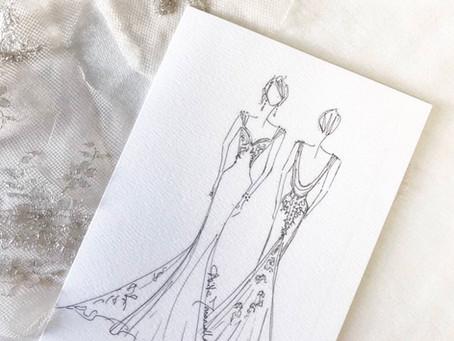 I WENT FOR A BESPOKE WEDDING DRESS DESIGN CONSULTATION, By Stephanie Jayne