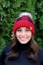 Red/Black Buffalo Plaid Hat