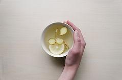 Zenzero, limone e miele Tè