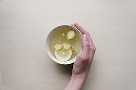 Ingefära, citron och honung te
