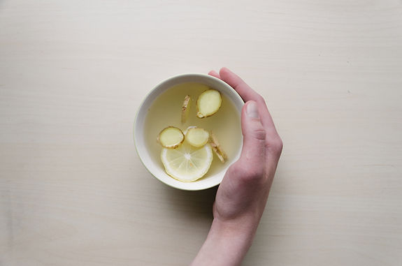 Ingwer, Zitrone & Honey Tea