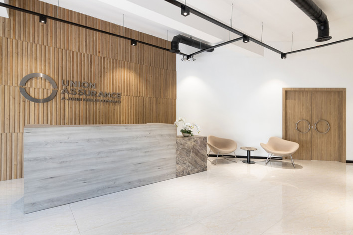 Union Assurance reception Creative Heritage Interiors