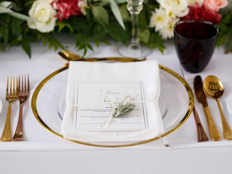 Romantic destination wedding table setting at wedding in Sri Lanka