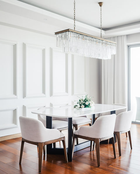 Dining Room by Creative Heritage Interio