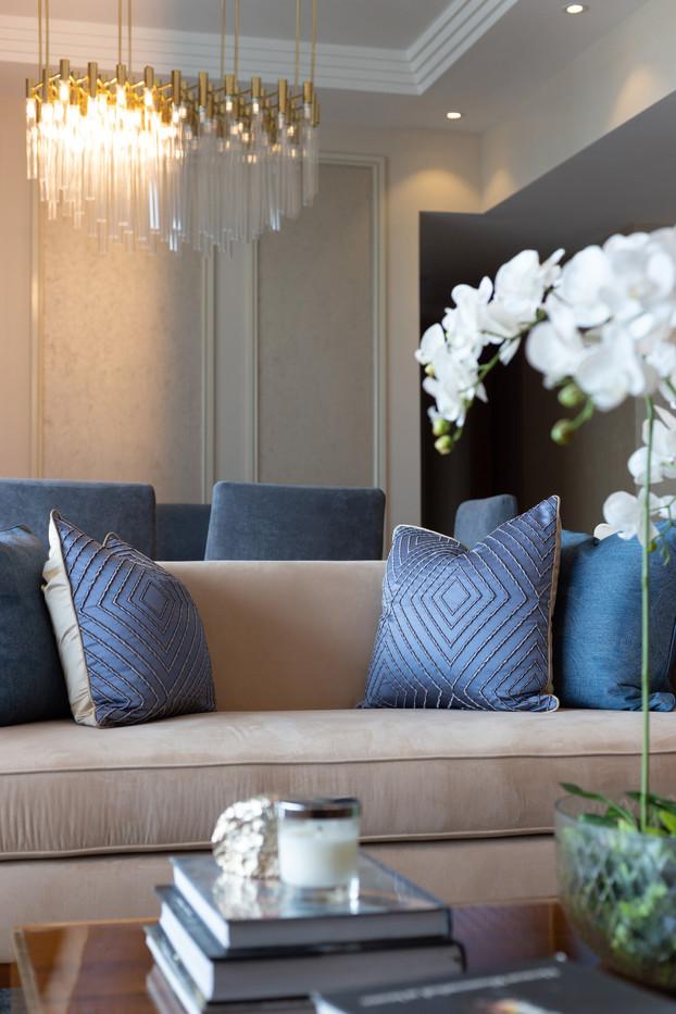 Sofa in living by Creative Heritage Interiors Sri Lanka