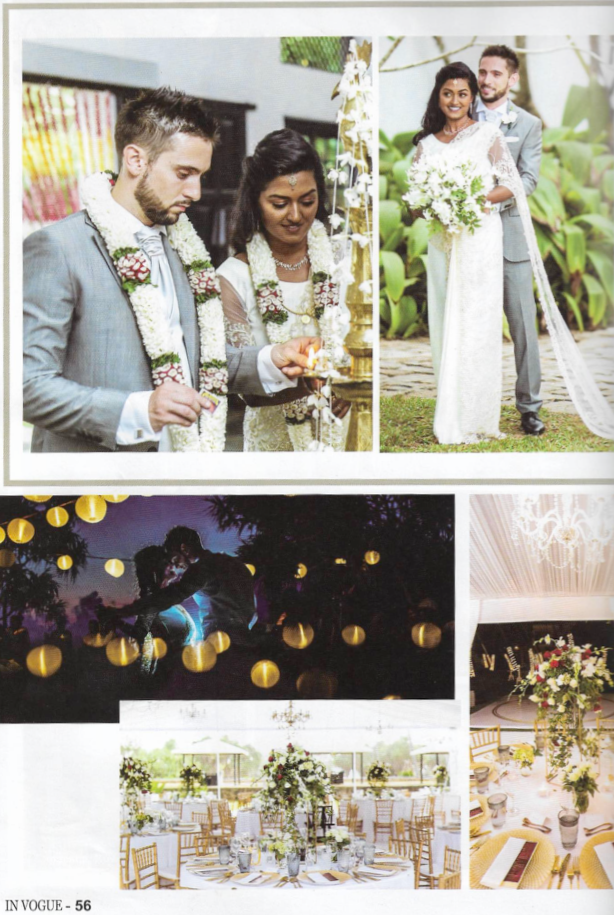 Sri Lankan Destination Wedding Happily Ever After wedding planner Maria and Loic