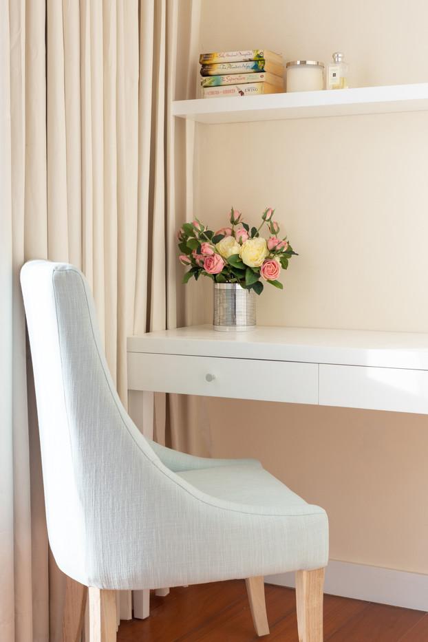 Desk space by Creatie Heritage Interiors