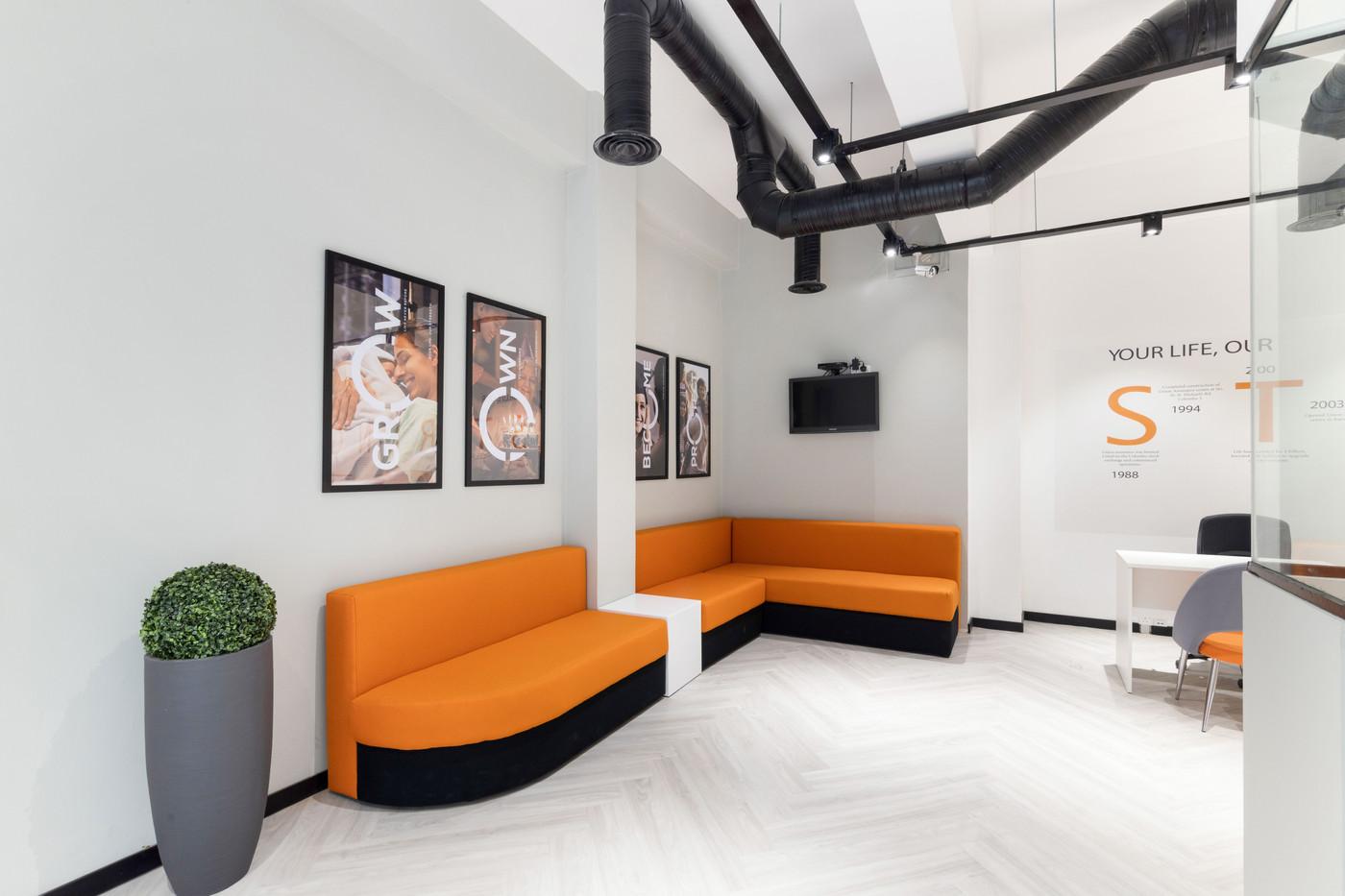 Union Assurance Branch Customer area Creative Heritage Interiors