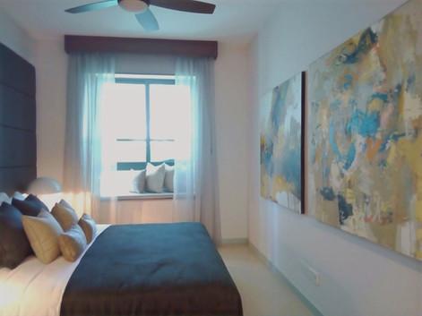 Master bedroom at Havelock City Show Apa