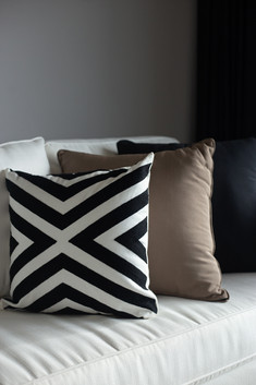 Decorative Cushions in sofa by Creative Heritage Interiors