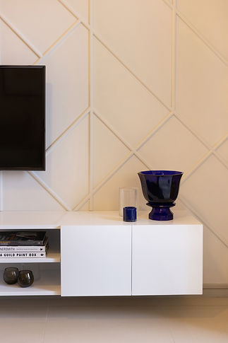 TV wall Design Box by Creative Heritage Interiors