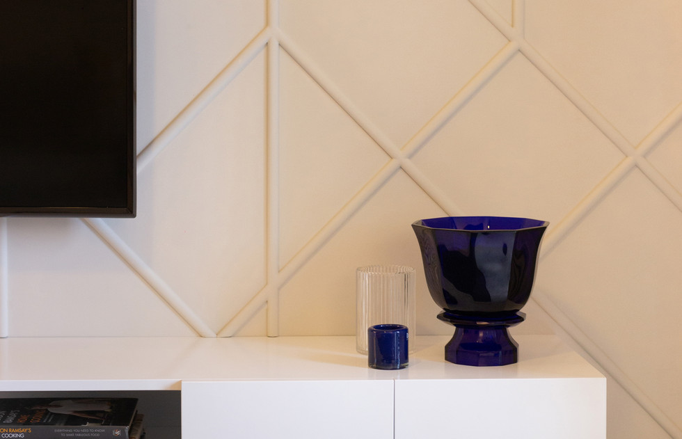 Geometrical Design Wall Molding Design Box by Creative Heritage Interiors