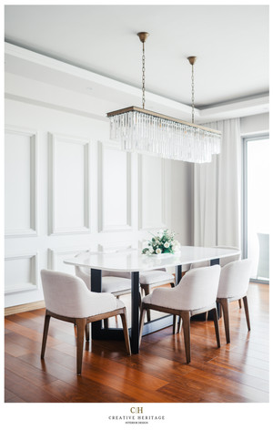 Dining area by Creative Heritage Interiors