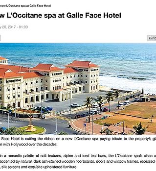 Creative Heritage Interiors Galle Face H