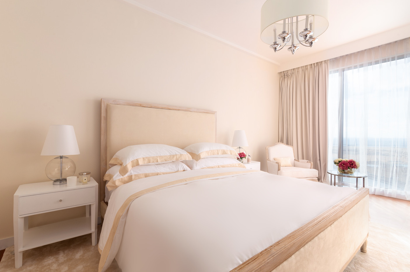 Guest bedroom by Creative Heritage Interiors