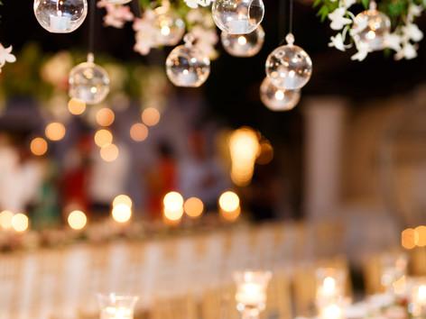 Beautiful table setting for a Sri Lanka Destination Wedding at The Villa Paradise Road in Sri Lanka