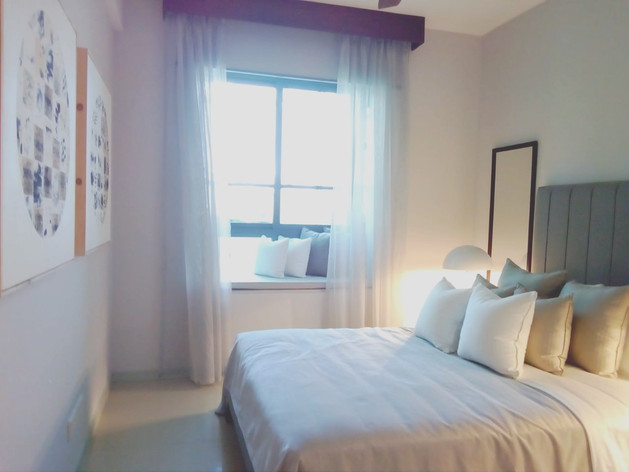 Guest bedroom Show Apartment Havelock Ci