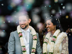 Traditional wedding garlands Indian Destinatinon Wedding Sri Lanka