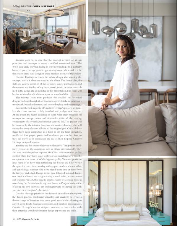 Yasmine Svensson CEO Magazine Luxury Int