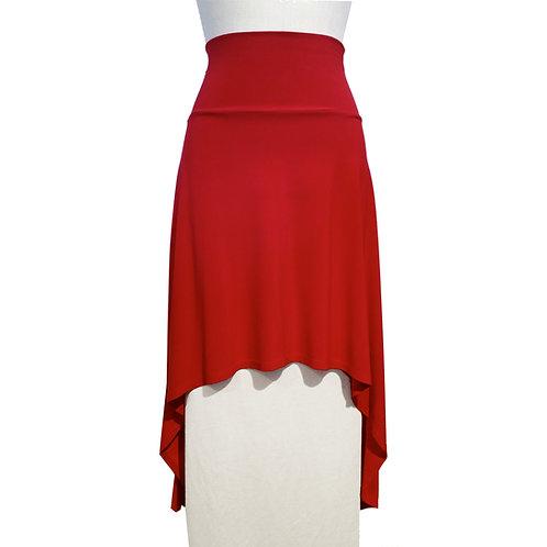 Hi Low A-line skirt