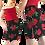 Thumbnail: Red rose pencil skirt