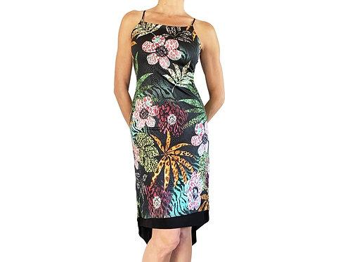 Jacquard Jungle fishtail dress