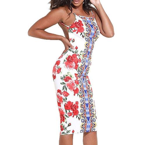 Bare Back Rose dress
