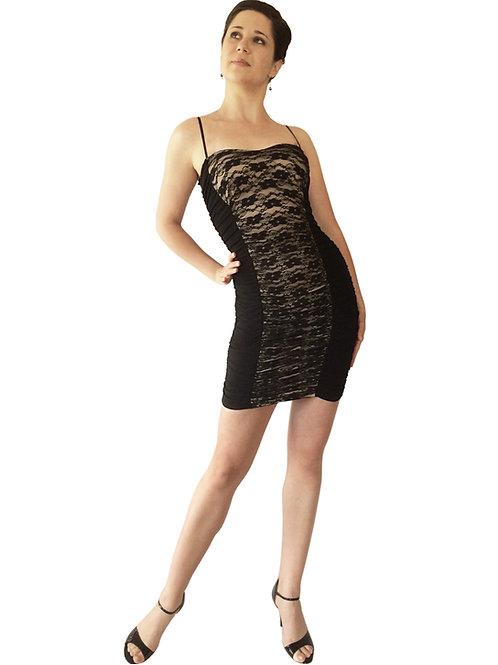 Ruched Lace Corset dress