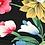 Thumbnail: 3/4 Sleeve Boatneck off shoulder in Tropical Floral