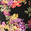 Thumbnail: Black Floral Blur Cross Strap sheath