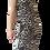 Thumbnail: Gray cheetah strapless